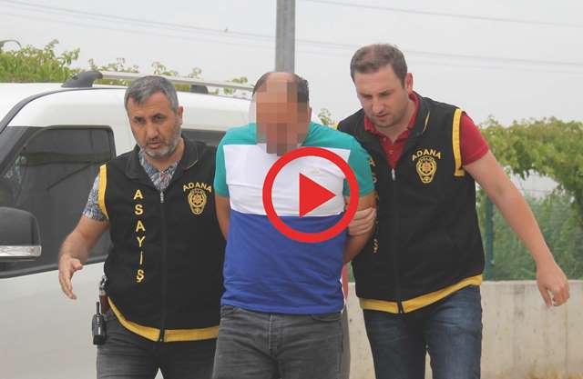 Adana'da çekiciyle otomobil hırsızlığı