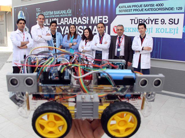 Erkanlı öğrencilerin teknolojik başarısı