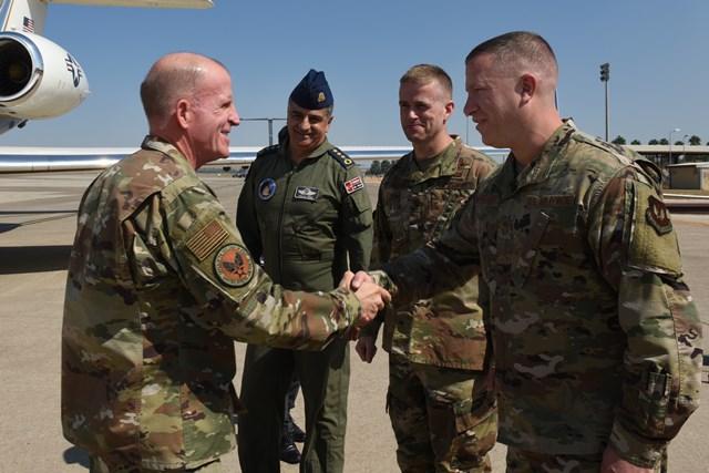 ABD'li Hava Kuvvetleri Komutan Yardımcısı Orgeneral Wilson İncirlik'te