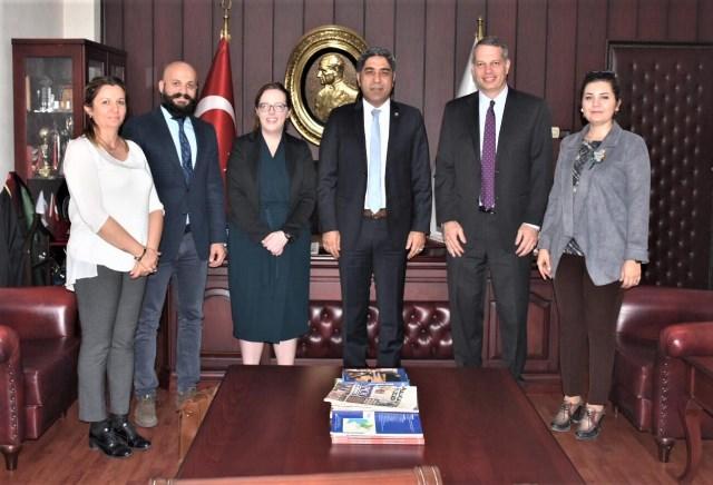 ABD Ankara Siyasi Müsteşarı'ndan Baro'ya Ziyaret