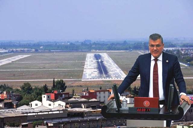 """Barut: """"Adana Havalimanı kapatılamaz, kent ekonomisine darbe vurulamaz"""""""