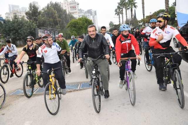 Temiz çevre ve sağlık için bisiklet kullanın