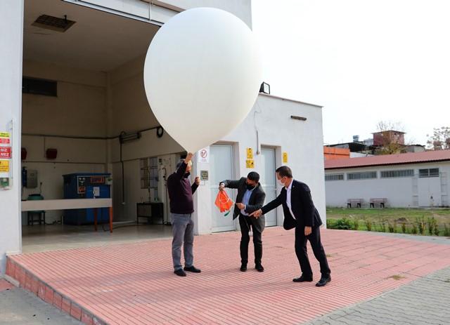 Bu balonlar her gün 2 defa gökyüzüne bırakılıyor