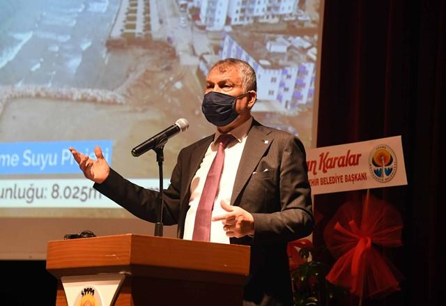 """Karalar:""""Daha güzel Adana'yı birlikte inşa edeceğiz"""""""