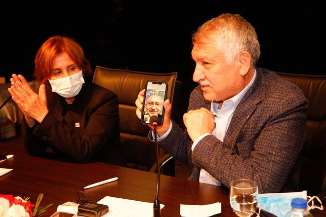 Apartman görevlilerine Kılıçdaroğlu ve Karalar desteği