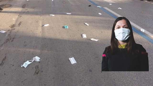 Maskeyi yere atmak kişisel korunma önlemini tehdide dönüştürüyor