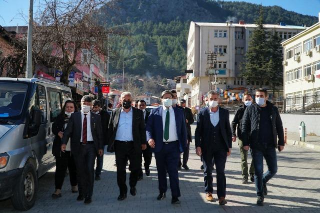 MHP'li Avcı, Feke ve Kozan ziyaretinde gündemi değerlendirdi