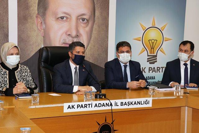 """Ay: """"Adana'mızı 2023 hedeflerine taşıyacak kadroyu oluşturduk"""""""