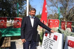 ŞEHİT MEZARLARINA SALDIRANLAR DEAŞ'LI ÇIKTI