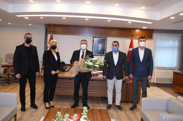 TÜSİKON'DAN VALİ ELBAN'A ZİYARET