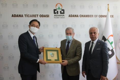 Menevşe'den büyükelçiye Adana'ya yatırım tüyoları