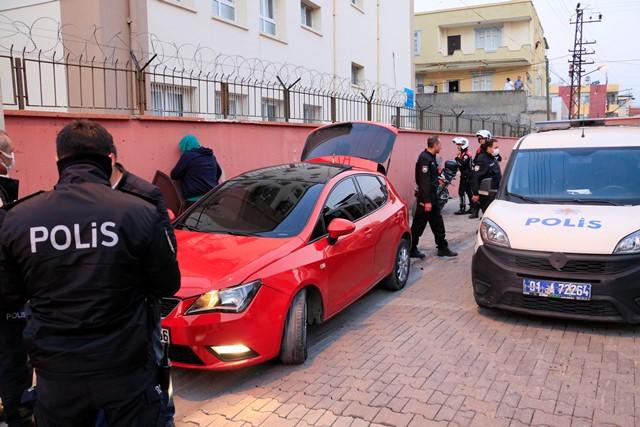 Polisten kaçan ehliyetsiz sürücü 5 kilometre sonra yakalandı