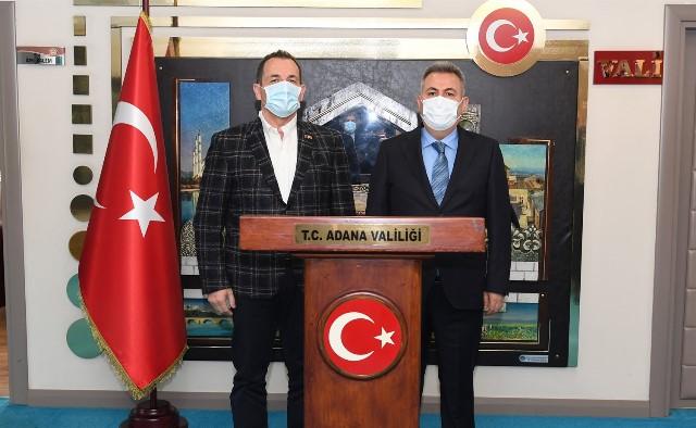 Bosna Hersek Güvenlik Bakanı Selmo Cikotic Vali Elban'ı Ziyaret Etti