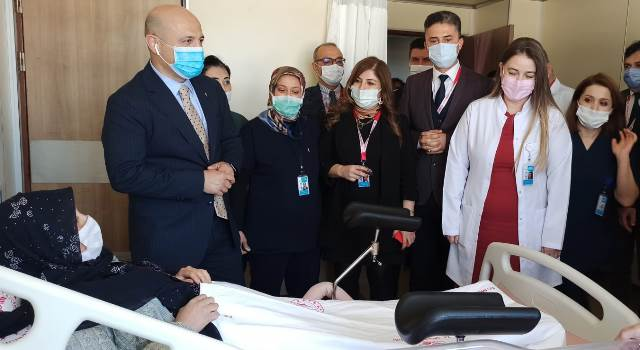Yüreğir Devlet Hastanesi, Kadın Hastalıkları ve Doğum Servisine Kavuştu
