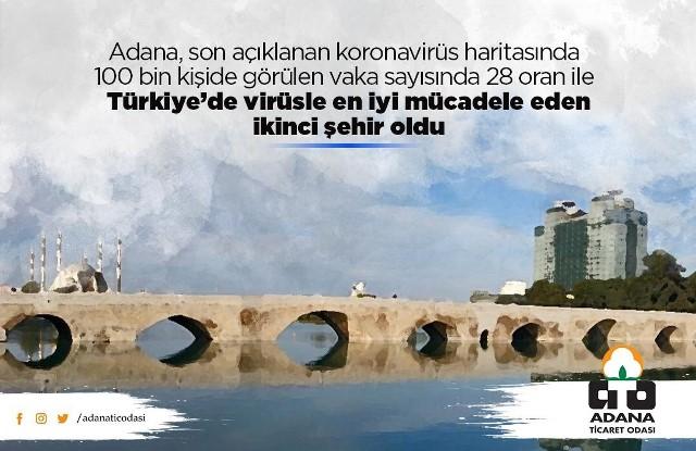 Adana'da vaka sayıları düştü iş dünyası moral buldu