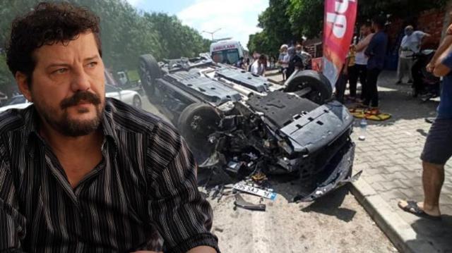 Ünlü oyuncu İlker Aksum kaza yaptı