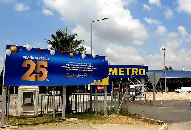 Metro'nun Adana mağazası 25. yılını kutluyor