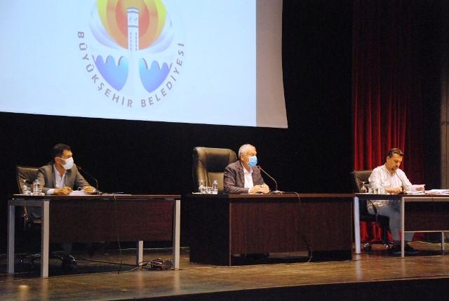 Büyükşehir Belediye Meclisi çalışmalarını tamamladı
