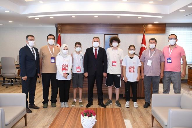Kırşehirli öğrenciler Adana'da
