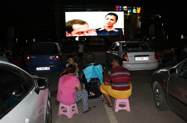 Arabada sinema keyfine yoğun ilgi