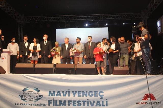 '1. ULUSAL MAVİ YENGEÇ FİLM FESTİVALİ' SONA ERDİ