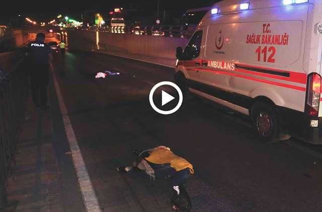 Yolun karşısına geçmek isterken otomobilin Çarptığı yabancı uyruklu 2 kız kardeş öldü