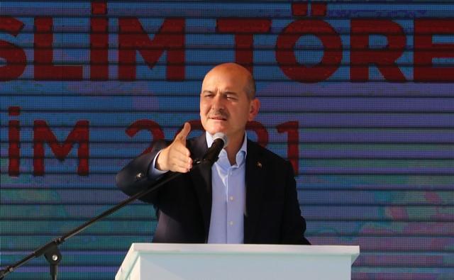 """SOYLU: """"DOĞAL AFETİN MASRAFI 6.5 MİLYARI AŞTI"""""""