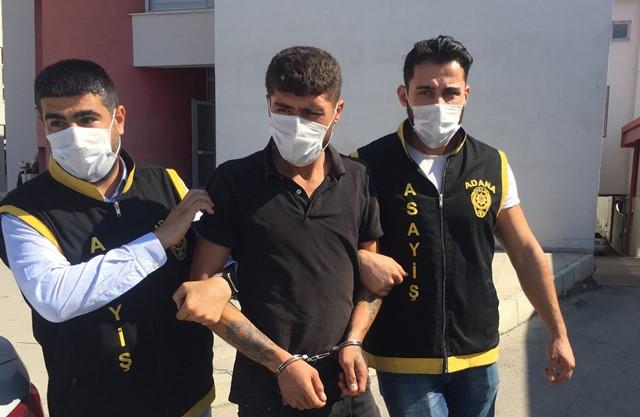 Adana'da 25 yıl 11 ay hapis cezasıyla aranan hayvan hırsızı yakalandı