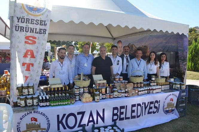 ULUSLARASI ADANA LEZZET FESTİVALİ'NDE YÖRESEL ÜRÜNLERE YOĞUN İLGİ