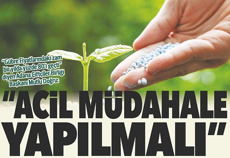 """""""ACİL MÜDAHALE YAPILMALI"""""""