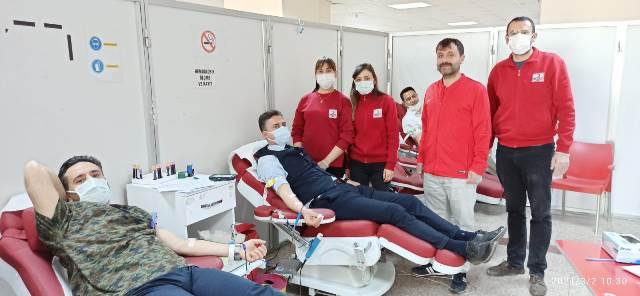 Başhekimden kan bağışına destek