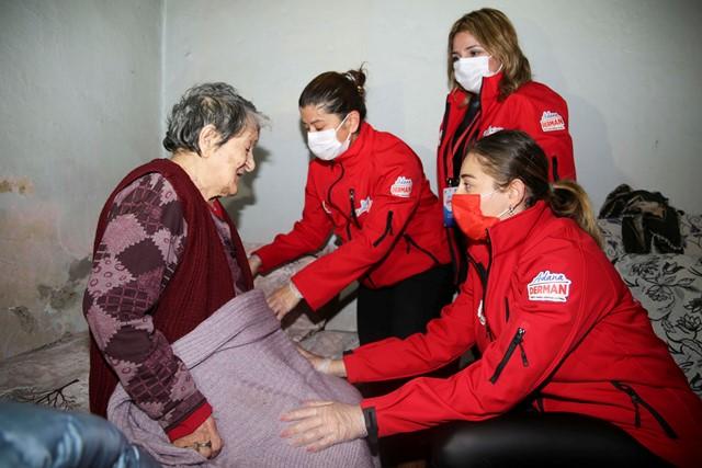 Yaşlılara destek, Covid-19 hastalarına kahvaltı ve yemek