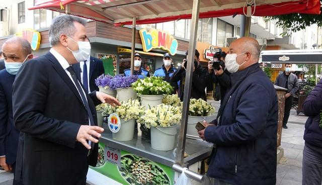 """VALİ ELBAN: """"SARIDAYIZ, HEDEFİMİZ MAVİ"""""""