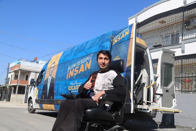 Engelli araçları tamir ediliyor