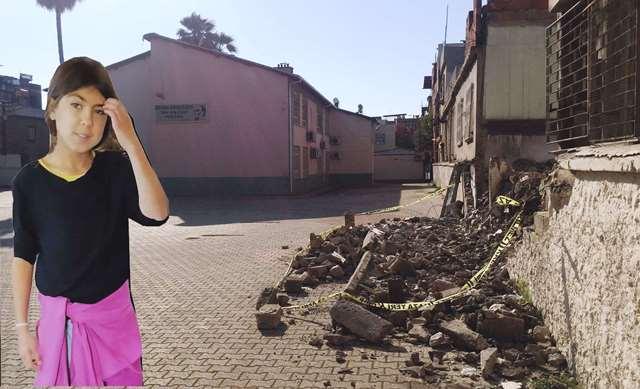 Okulda devrilen duvarın altında kalarak öldü