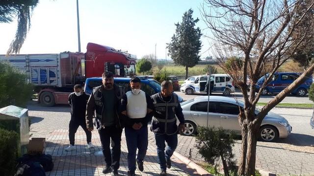 Bir eve silahlı saldırı düzenleyen şüpheli tutuklandı