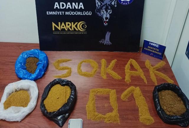 Adana'da torbacı operasyonunda 25 tutuklama