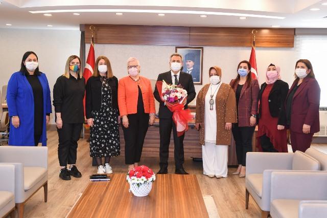 Vali Elban'dan Gündoğdu Vakıfı'na teşekkür