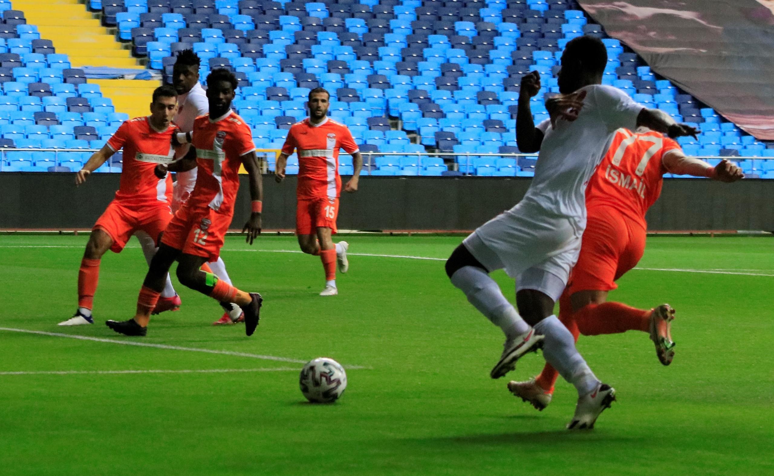 Adanaspor:0–Ümraniye: 2