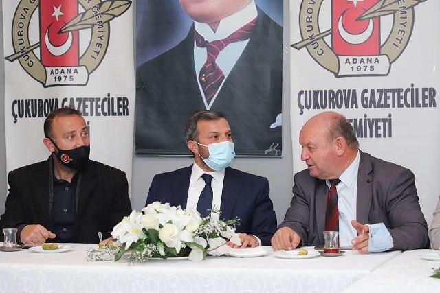 ÇGC'de Yüreğir Belediyesi'nin çalışmaları ve yerel basının sorunları ele alındı