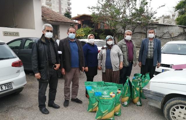 Çiftçi katkılı hibe tohumluk dağıtımı başladı