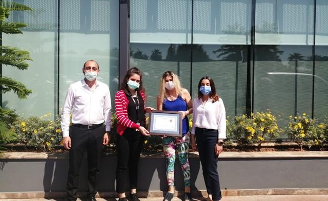 AOSB'nin çevreci firmaları ödüllendirildi