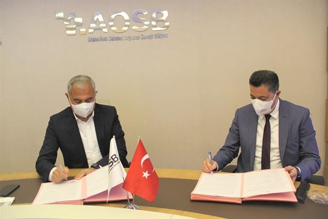 AOSB, OKÜ ile işbirliği protokolü imzaladı