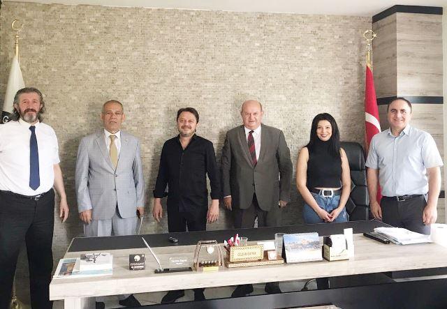 TGF Heyeti İstanbul Avrasya Gazeteciler Cemiyeti'ni ziyaret etti