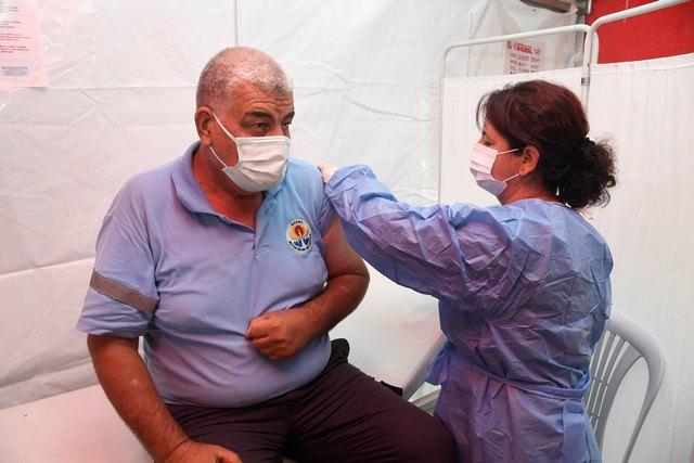 ABB çalışanlarına Covid-19 aşısı
