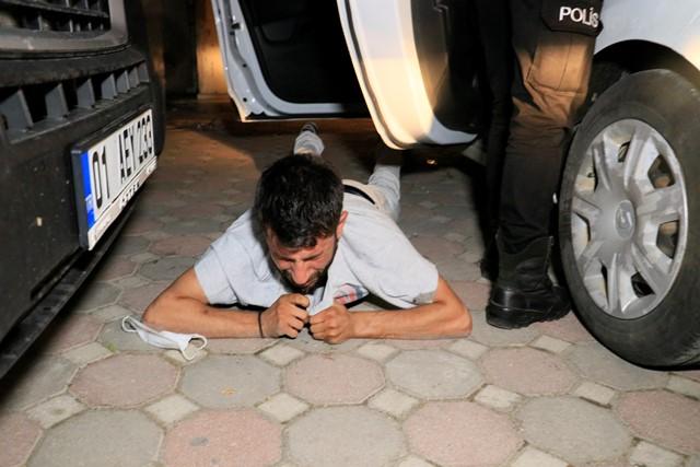 'Dur' ihtarına uymayan ehliyetsiz sürücü 15 Km'lik kovalamacanın ardından yakalandı