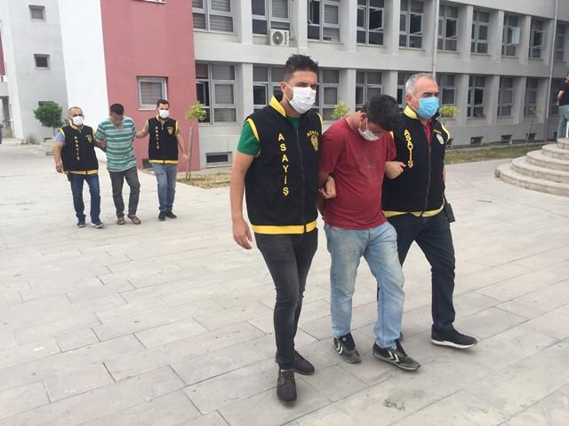 100 bin lira değerinde inşaat malzemesi ve akü çalan 2 kişi tutuklandı