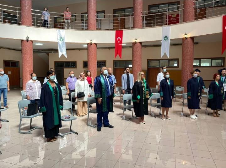 ÇÜ  Spor Bilimleri Fakültesi Mezunlarını Uğurladı