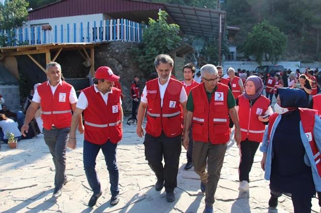 """Kızılay'dan """"Her Kan 3 Fidan"""" kampanyası"""