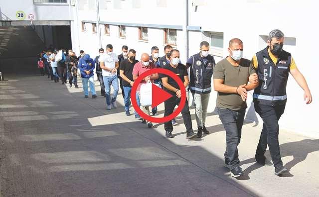 37 milyon liralık vurguna 4 tutuklama